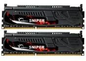 2x4096Mb DDR3 1600Mhz G.Skill 9-9-9-24 Sniper LV series F3-12800CL9D-8GBSR1