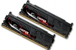 2x4096Mb DDR3 1600Mhz G.Skill 9-9-9-24 Sniper series F3-12800CL9D-8GBSR