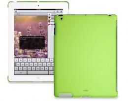 Накладка Puro iPad 2 back зелёная IPAD2BCOVERGRN