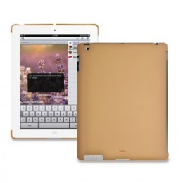 Накладка Puro iPad 2 back коричневая IPAD2BCOVERBRW