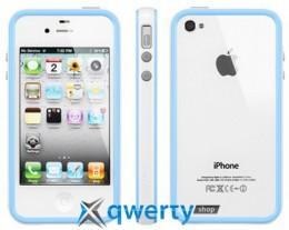 SGP Case Neo Hybrid 2S Pastel Series Alpine Tender Blue for iPhone 4/4S (SGP08361)
