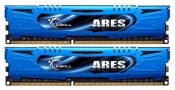 2x4096Mb DDR3 1600Mhz G.Skill 9-9-9-24 Ares NEW F3-1600C9D-8GAB