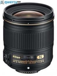 Nikon 28mm f/1.8G N AF-S Nikkor