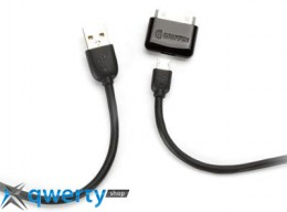 Griffin Charge&Sync Cable Kit Black for  iPad/iPhone/iPod/Smartphone (GC17117)