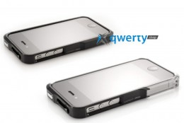 Element Case Vapor4 Pro silver/black for iPhone 4/4S