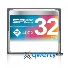 Silicon Power Compact Flash 32 GB 400x SP032GBCFC400V10