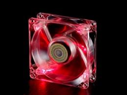 Cooler Master BC 80 LED FAN, 80мм, красная подсветка (R4-BC8R-18FR-R1)