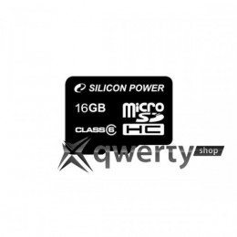 Silicon Power microSDHC 16 GB Class 4 SP016GBSTH004V10