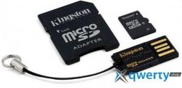 Kingston microSD 16 GB (+ SD адаптер, USB миникардридер) MBLY4G2/16GB