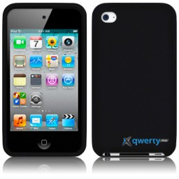 Silicon Case iPod Touch 4Gen Black