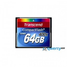 Transcend Compact Flash 64 GB (400X) TS64GCF400