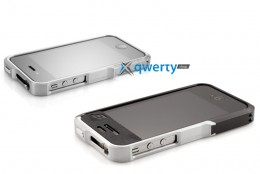 Element Case Vapor4 Pro silver for iPhone 4/4S