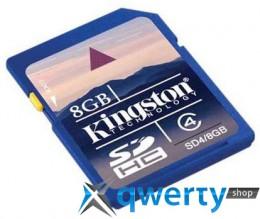Kingston SDHC 8 GB Class 4 SD4/8GB