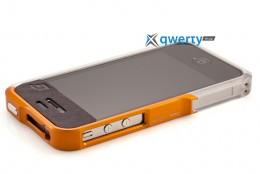 Element Case Vapor4 Pro silver/bronze for iPhone 4/4S