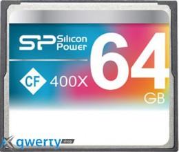Silicon Power Compact Flash 64 GB 400x SP064GBCFC400V10