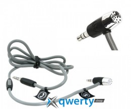 Griffin HandsFree Mic + AUX Cable Black for  iPhone 4/3G/3GS (GC17090)