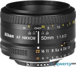 NIKON Nikkor AF 50 f/1.8D (JAA013DA)