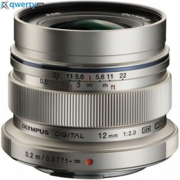 Olympus 12mm f/2.0 M. Zuiko Digital ED Lens EW-M1220 silver Официальная гарантия!