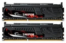 2x8192Mb DDR3 1600Mhz G.Skill 9-9-9-24 SNIPER (F3-1600C9D-16GSR)