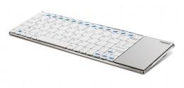 Rapoo Wireless Multi-media Touchpad Keyboard E2700 White