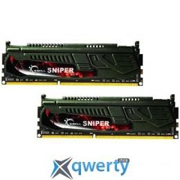 16GB DDR3 (2x8GB) 2400 MHz G.Skill Sniper (F3-2400C11D-16GSR)