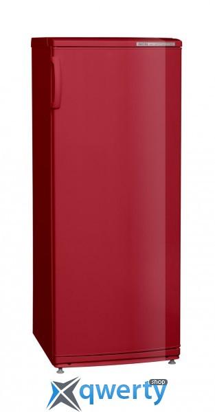 Морозильная камера красного цвета