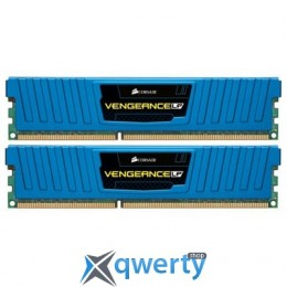 4GB (2x2Gb) DDR3-1600 Corsair Vengeance Low Profile Blue (CML4GX3M2A1600C9B)