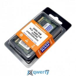 SoDIMM 2GB DDR2 800MHz GOODRAM (GR800S264L6/2G) купить в Одессе