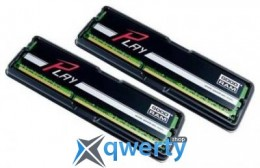 16GB DDR3 (2x8GB) 1600MHz GOODRAM PLAY Black (GY1600D364L10/16GDC)