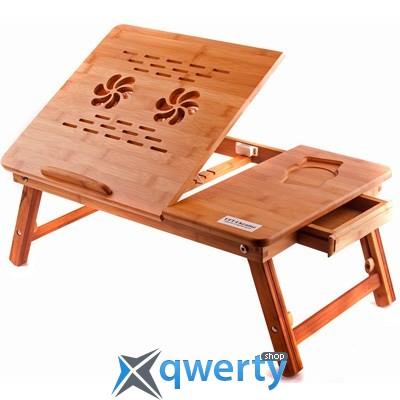 Деревянная подставка-столик для ноутбука