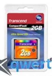 Transcend CompactFlash 2GB (TS2GCF133)