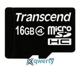 Transcend microSDHC 16GB Class 4 (TS16GUSDC4)