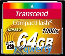 Transcend CompactFlash 64GB 1000x (TS64GCF1000)