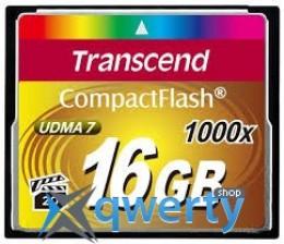 Transcend CompactFlash 16GB 1000x (TS16GCF1000)