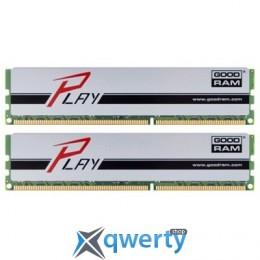 16GB DDR3 (2x8GB) 1600MHz GOODRAM PLAY Silver (GYS1600D364L10/16GDC)