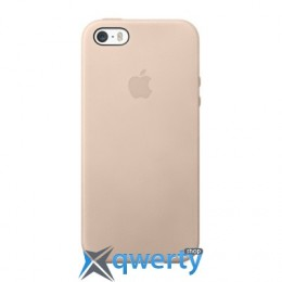 Apple iPhone 5s Leather Case Beidg (MF042)