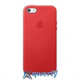 Apple iPhone 5s Leather Case Red (MF046)