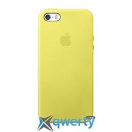 Apple iPhone 5s Leather Case Yellow (MF043)