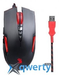 A4Tech Bloody V2 game mouse Black USB