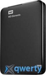Western Digital Elements 2TB WDBU6Y0020BBK-EESN 2.5 USB 3.0 External Black