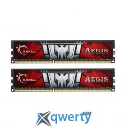 16GB DDR3 (2x8GB) 1600 MHz G.Skill Aegis (F3-1600C11D-16GISL)