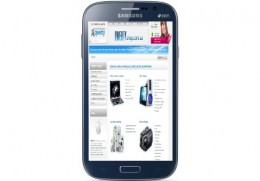 Samsung GT-I9082 Galaxy Grand Duos MBA (metallic blue) GT-I9082MBASEK купить в Одессе