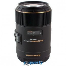 Sigma 105mm F/2.8 EX DG OS HS Macro Canon Официальная гарантия!