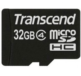 Transcend MicroSD 32 Gb (class 4) no adapter TS32GUSDC4