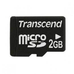 Transcend MicroSD 2 Gb no adapter TS2GUSDC