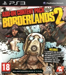Borderlands 2 Add-On Content Pack PS-3