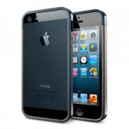 SGP Case Linear EX Slim Metal Series Gun Metal for iPhone 5 (SGP10085)