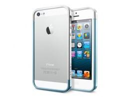 SGP Case Linear EX Slim Metal Series Metal Blue for iPhone 5 (SGP10081)