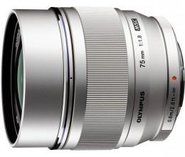 Olympus ET-M7518 75 мм 1:1.8 Silver Официальная гарантия!