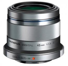 Olympus ET-M4518 45 мм 1:1.8 Silver Официальная гарантия!